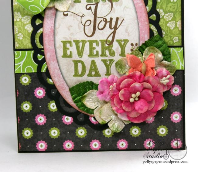 Find Joy Every Day All Occasion Greeting Card Polly's Paper Studio 02