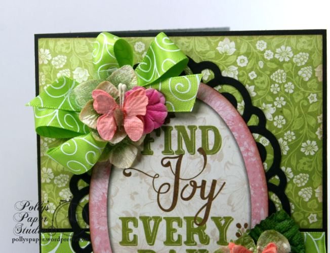 Find Joy Every Day All Occasion Greeting Card Polly's Paper Studio 03
