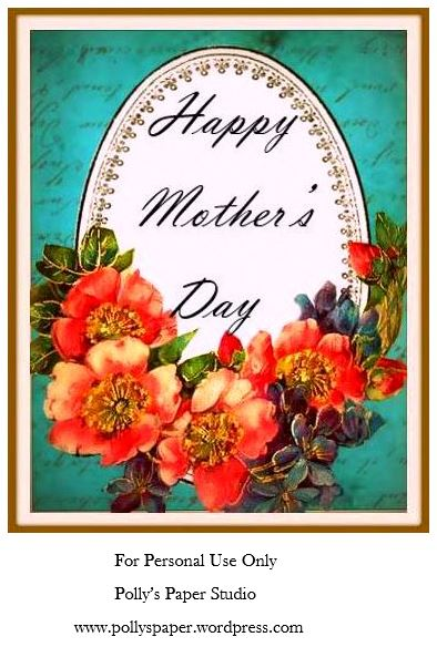 Happy Mother's Day Printable Polly's Paper Studio