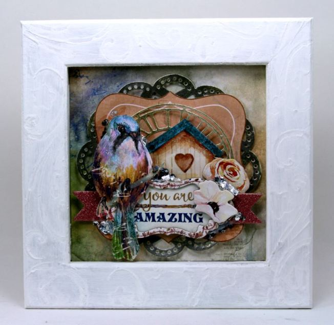 You_Are_Amazing_Mini_Framed_Inspirational_Art_Ginny_Nemchak_BoBunny_Serendipity_01