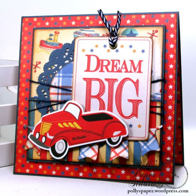 Dream Big Birthday Greeting Card Polly's Paper Studio 01