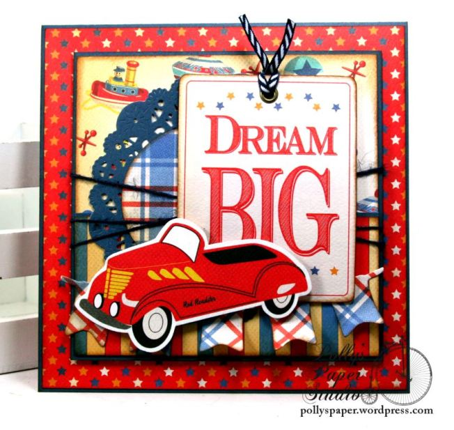 Dream Big Birthday Greeting Card Polly's Paper Studio 02
