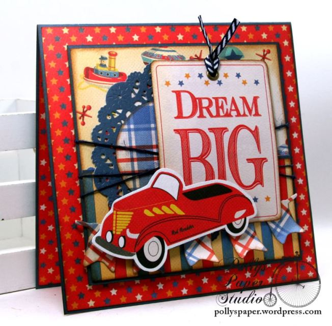 Dream Big Birthday Greeting Card Polly's Paper Studio 03