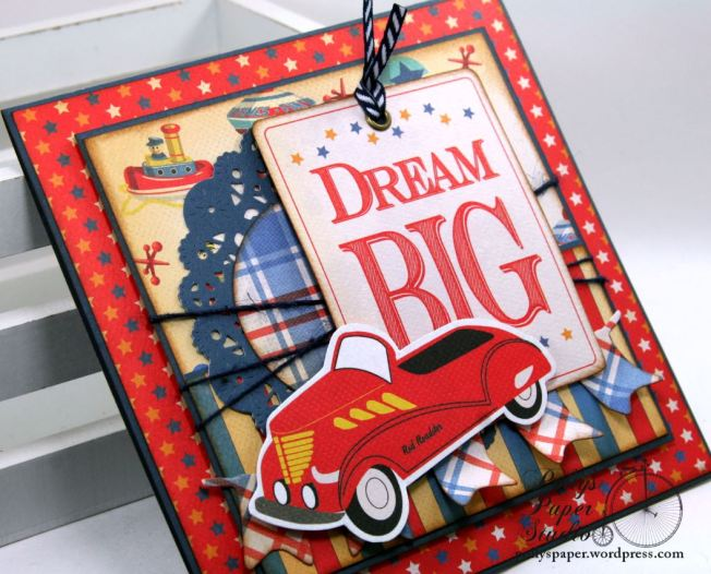 Dream Big Birthday Greeting Card Polly's Paper Studio 04