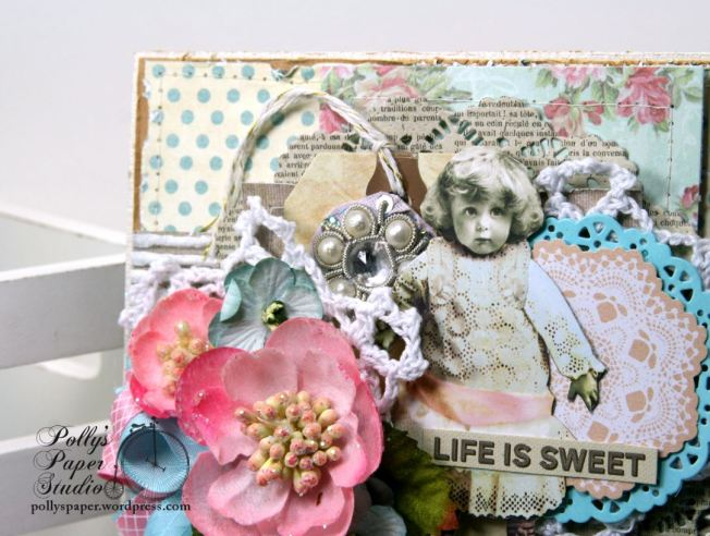 Life is Sweet All Occasion Greeting Card Polly's Paper Studio 02