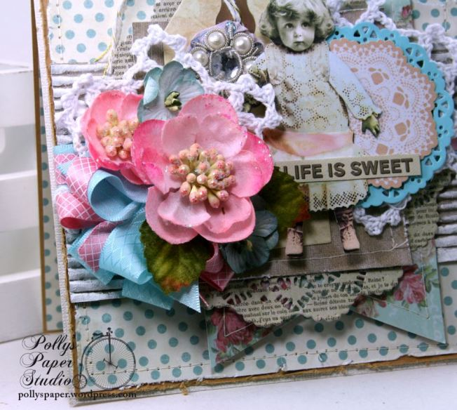 Life is Sweet All Occasion Greeting Card Polly's Paper Studio 04