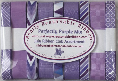 Perfectly Purple Mix Ribbon Club Assortment