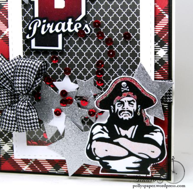 Pirate Graduation Card Polly's Paper Studio 03