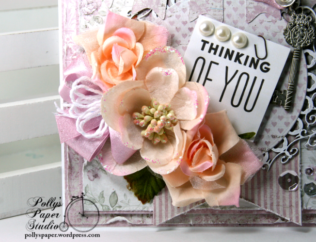 Thinking of You Greeting Card Polly's Paper Studio 04