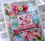 Happy Holidays Greeting Card with Video Tutorial