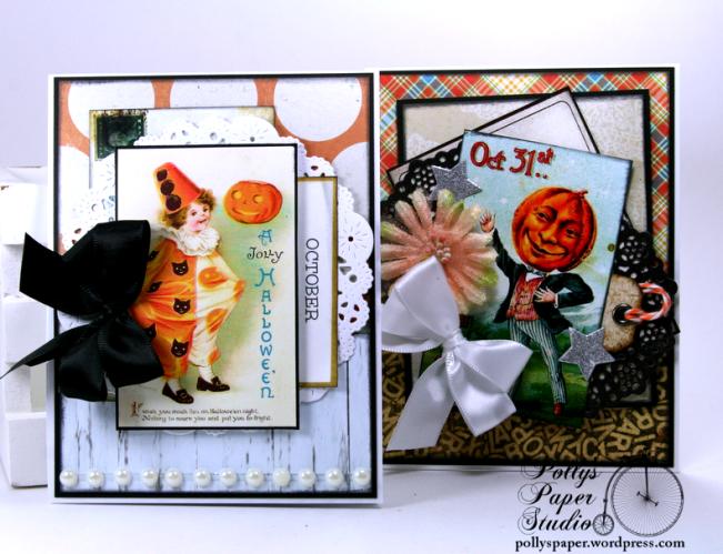 Vintage Halloween Creativity Kit 2 Polly's Paper Studio