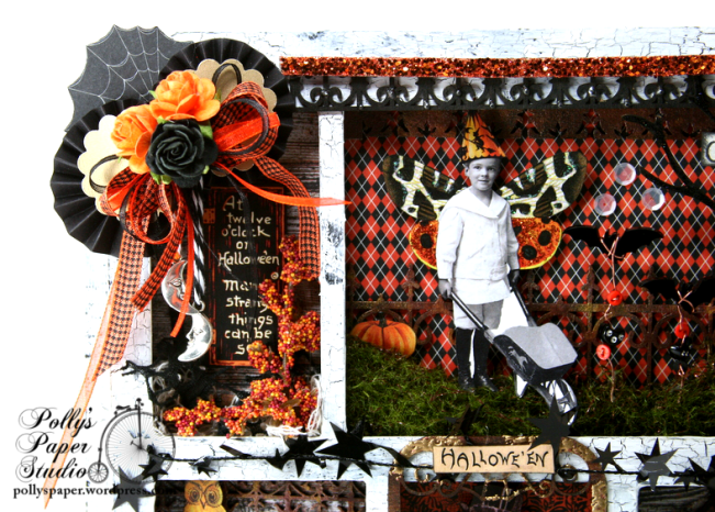 ginnyn-Grow Where You Are Planted Halloween Shadow Box 2