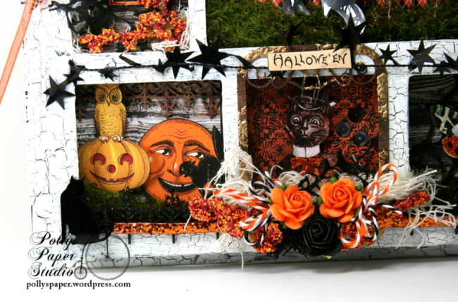 ginnyn-Grow Where You Are Planted Halloween Shadow Box 4