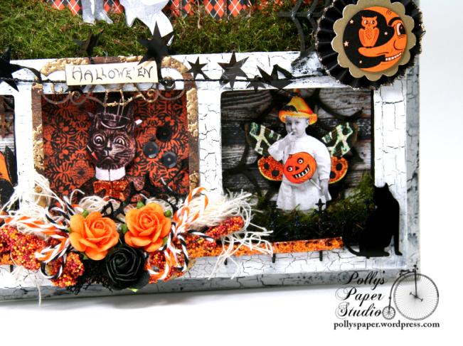 ginnyn-Grow Where You Are Planted Halloween Shadow Box 5