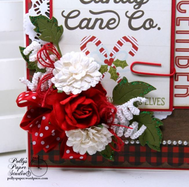 Candy Cane Co. Christmas Greeting Card Polly's Paper Studio Handmade 02