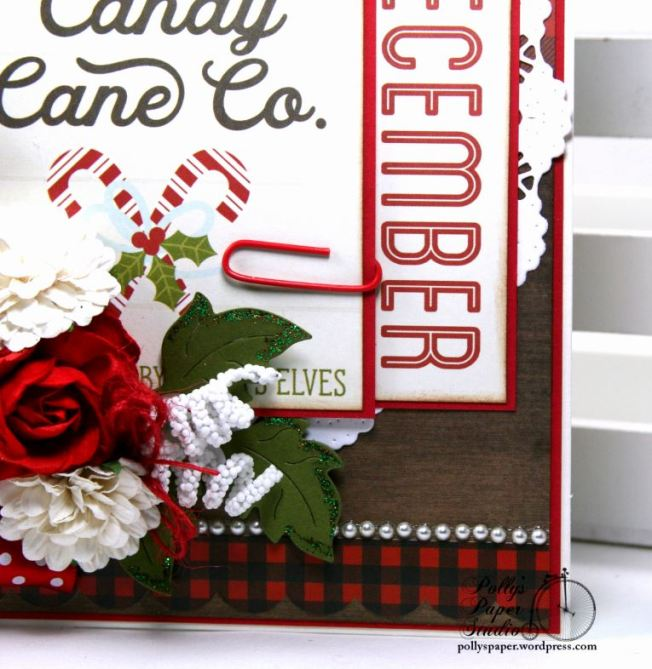 Candy Cane Co. Christmas Greeting Card Polly's Paper Studio Handmade 05