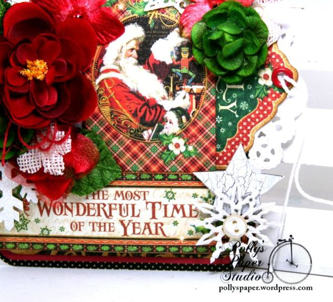 The Most Wonderful Time of the Year Christmas Tag Polly's Paper Studio 05