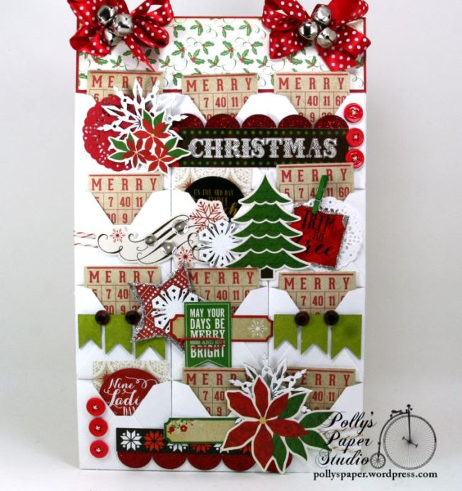 Advent Calendar Polly's Paper Studio 01