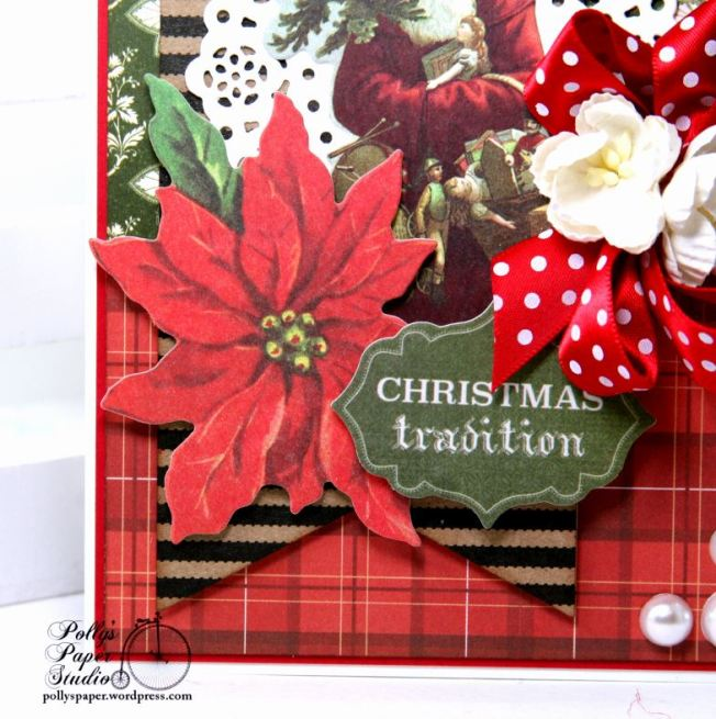 Christmas Traditions Greeitng Card Polly's Paper Studio 02