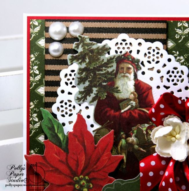 Christmas Traditions Greeitng Card Polly's Paper Studio 03