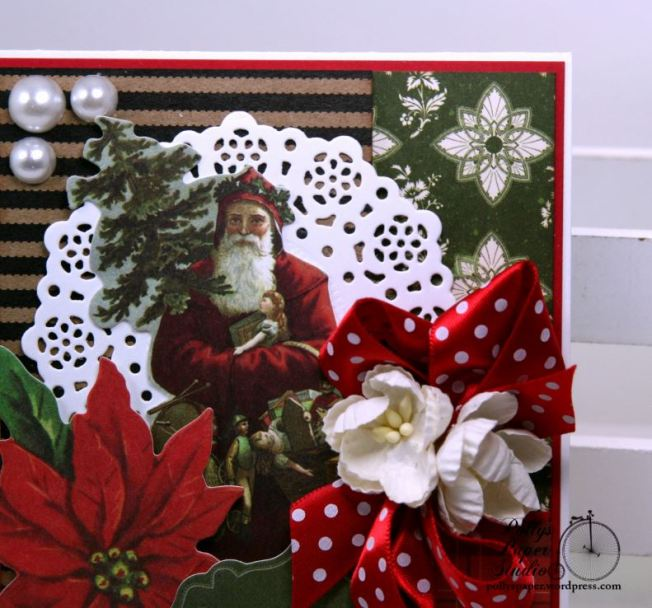 Christmas Traditions Greeitng Card Polly's Paper Studio 04