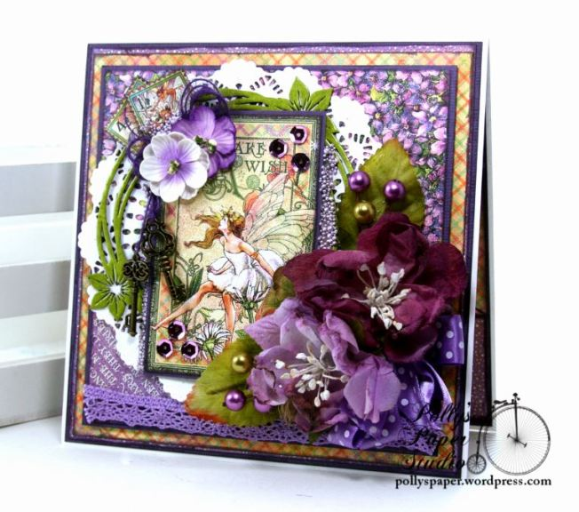 Fairy Dust Greeting Card Polly's Paper Studio G45 01