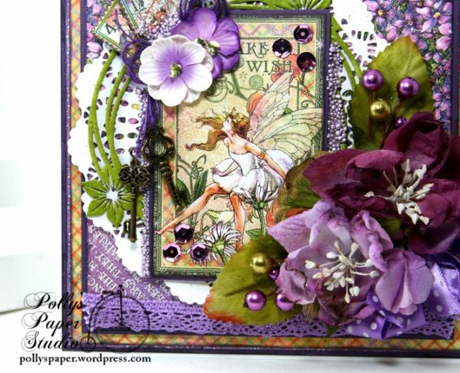 Fairy Dust Greeting Card Polly's Paper Studio G45 02
