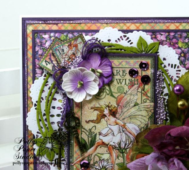 Fairy Dust Greeting Card Polly's Paper Studio G45 04
