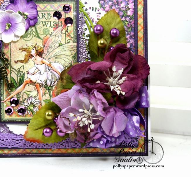 Fairy Dust Greeting Card Polly's Paper Studio G45 06