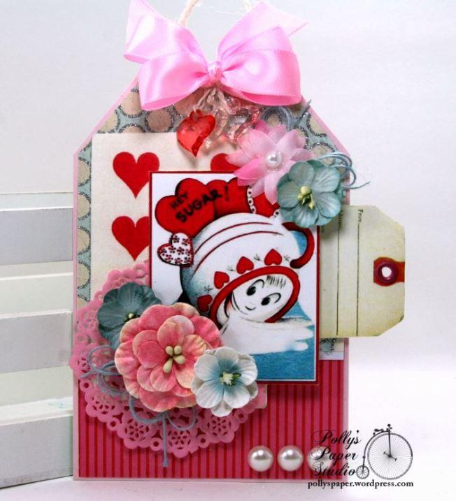 Hey Sugar Valentine Tag Polly's Paper Studio 01