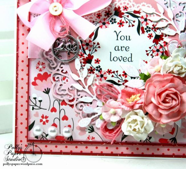 You are Loved Valentine Greeting Card Polly's Paper Studio 03