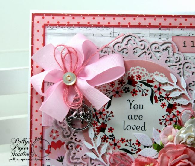 You are Loved Valentine Greeting Card Polly's Paper Studio 04