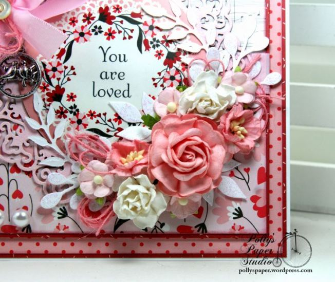 You are Loved Valentine Greeting Card Polly's Paper Studio 06