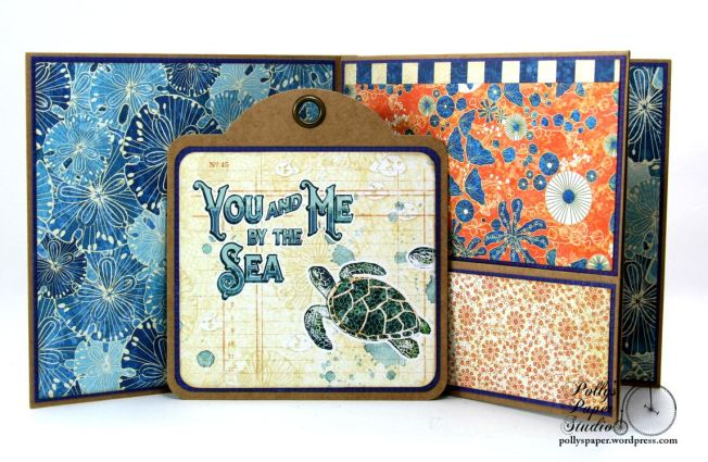 Sun Kissed Mini Album Polly's Paper Studio Graphic 45 010