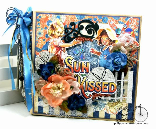 Sun Kissed Mini Album Polly's Paper Studio Graphic 45 02