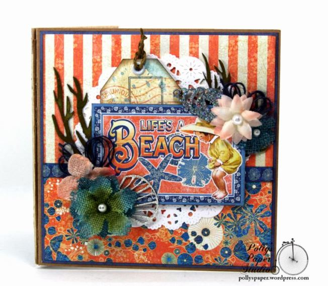 Sun Kissed Mini Album Polly's Paper Studio Graphic 45 03