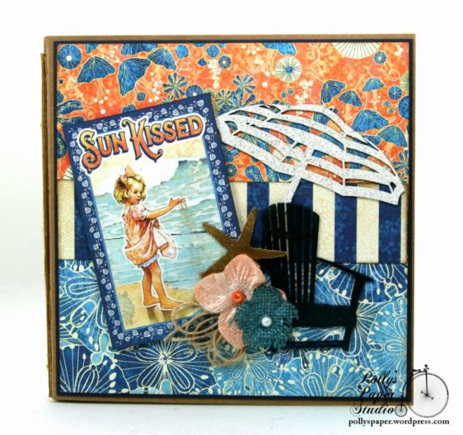 Sun Kissed Mini Album Polly's Paper Studio Graphic 45 04