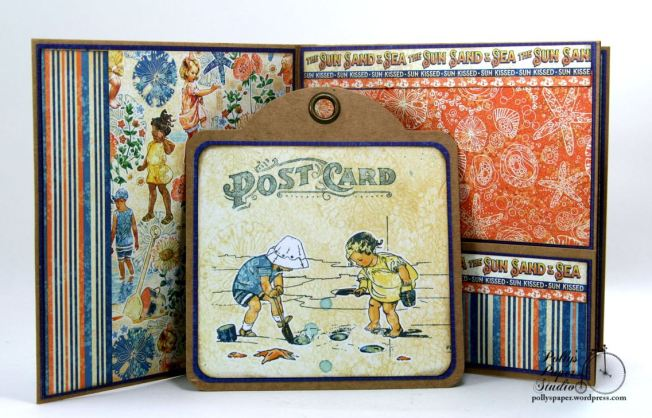 Sun Kissed Mini Album Polly's Paper Studio Graphic 45 05