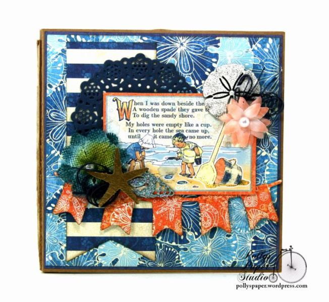Sun Kissed Mini Album Polly's Paper Studio Graphic 45 07