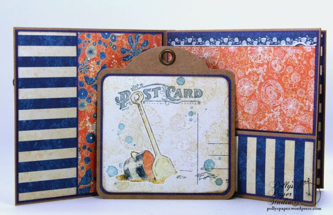 Sun Kissed Mini Album Polly's Paper Studio Graphic 45 08