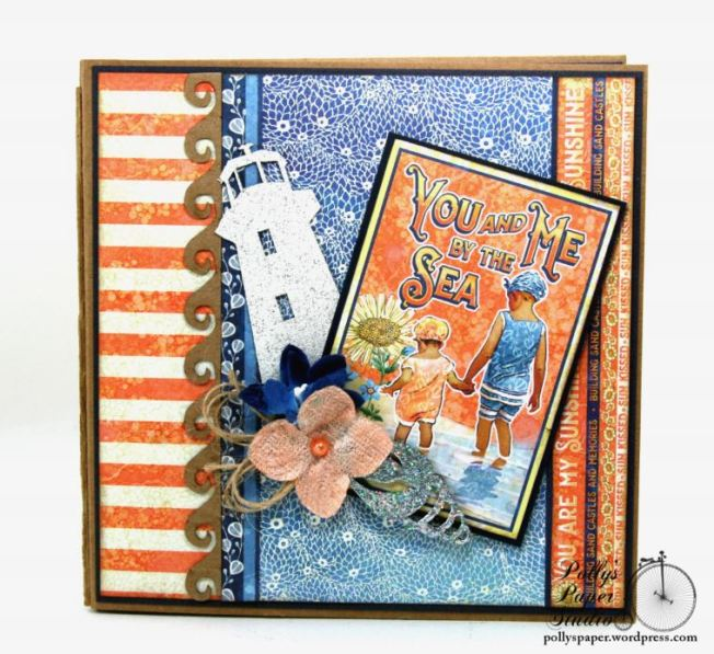Sun Kissed Mini Album Polly's Paper Studio Graphic 45 09