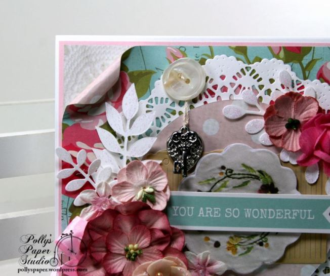 You Are So Wonderful Greeting Card Polly's Paper Studio 04
