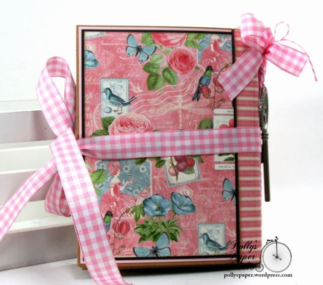 Botanical Tea Envelope Mini Album Polly's Paper Studio Graphic 45 03