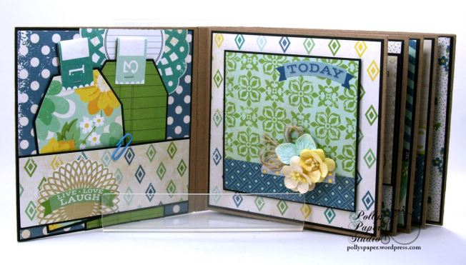 Documented Mini Album Scrapbook Polly's Paper Studio 03