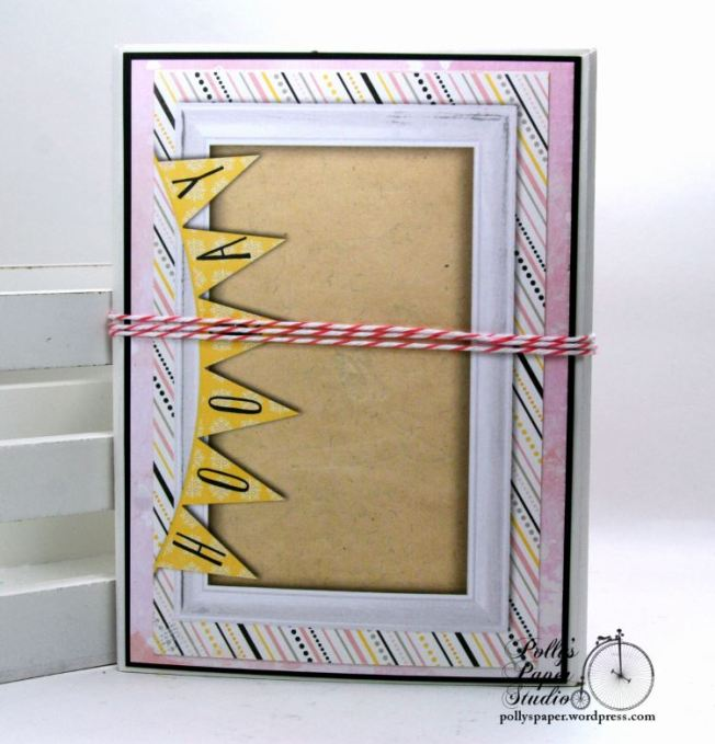 Inspire Flip Book Mini Scrapbook Album Polly's Paper Studio 02