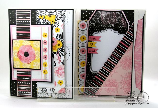 Inspire Flip Book Mini Scrapbook Album Polly's Paper Studio 04