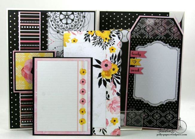 Inspire Flip Book Mini Scrapbook Album Polly's Paper Studio 05