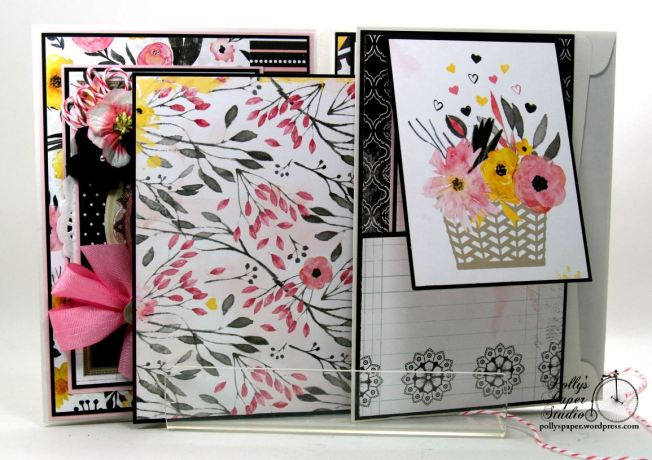 Inspire Flip Book Mini Scrapbook Album Polly's Paper Studio 08