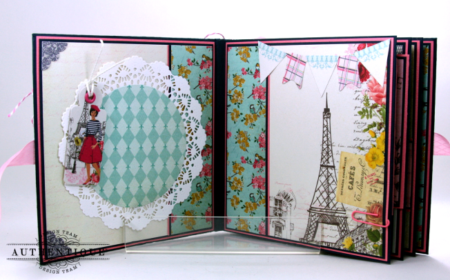 Be Your Own Kind Of Beautiful Mini Album Authentique Polly's Paper Studio 03