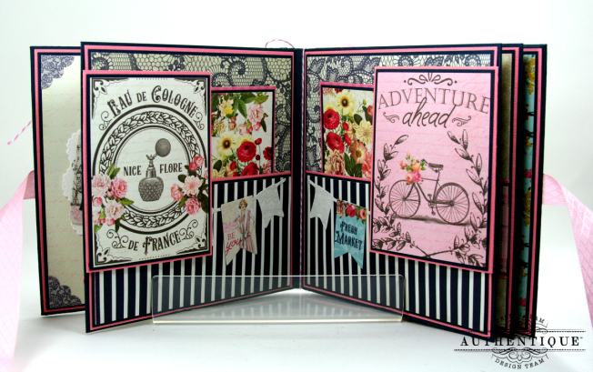 Be Your Own Kind Of Beautiful Mini Album Authentique Polly's Paper Studio 04